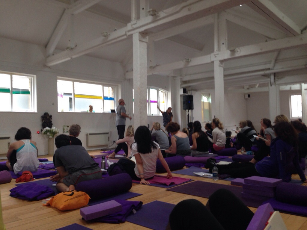 Paul Grilley Yin Yoga Workshop London Soho Triyoga